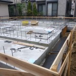 新築工事 基礎工事の巻4